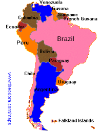a map of south america maps of south america flags maps economy geography climate