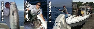 cape cod striped bass tuna shark fishing charters