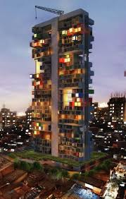 container apartment building in mumbai container living