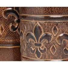 fleur de lis canisters for the kitchen fleur de lis kitchen accessories solemio