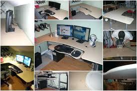 Built In Computer Desks with Unique Built In Computer Desk Ideas Interior Designing Best On
