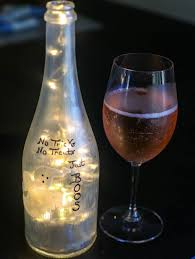 halloween glass halloween painted wine bottle happily hughes