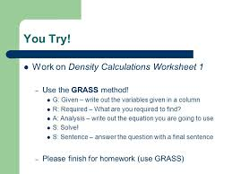 density a summary mass mass is the amount of material in an
