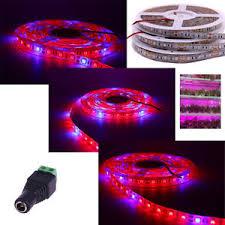 12v dc led grow lights led grow lights strip 5m 12v waterproof 5050 red blue for plants veg