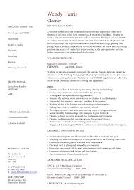 cleaner resume sample job cleaning resume maintenance template