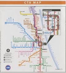 Chicago Downtown Map by Chicago Bus Trip Purdue College Of Liberal Arts