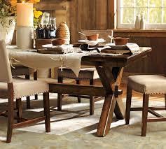 pottery barn toscana dining table copycatchic