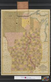 Map Of Lake Superior Map Of The States Of Missouri Illinois Iowa And Wisconsin The
