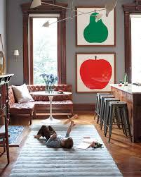 brownstone interior home tour a family oriented brownstone in brooklyn martha stewart