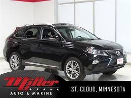 lexus rx 350 fair price pre owned 2013 lexus rx 350 4d sport utility in st cloud 63037a