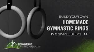 build your own ring build your own gymnastic rings in 3 steps bodyweight