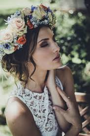 flower hair 10 flower crown hairstyles for any mywedding