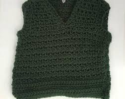 boys sweater vest etsy