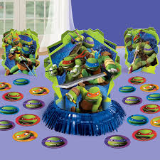 home decor parties canada tmnt party table decorating kit 23 piece party supplies canada