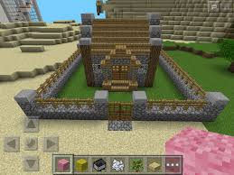 my cute little house that i built in minecraft p e addy