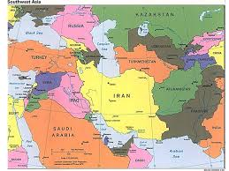middle east map gulf of oman the student will locate selected features in southwestern asia
