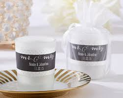 personalized candle favors personalized frosted glass votive mr mrs my wedding favors