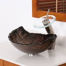 bathroom sink magnificent granite vessel sink chiseled light