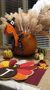 16 smart last minute turkey inspired decor and crafts for