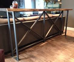 metal bar height table 4 bar top height table legs 34 12 tall 50016 metal in decorating