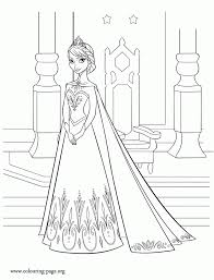 disney frozen coloring pages castle free images coloring disney