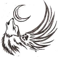 29 best winged wolf tattoo 3d images on pinterest angel custom
