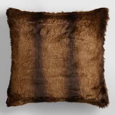 Faux Fox Fur Throw