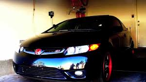 2007 honda civic si drive by and cruise day and night youtube