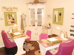 Table Salon Design Interiors Design Show Us Your Manicure Tables Style Nails Magazine