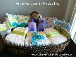 cheap baby shower gifts how to make a budget baby shower basket i think i d like this