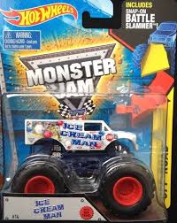 monster jam 2015 trucks brand new 2015 1 64 monster jam truck ice cream man off road