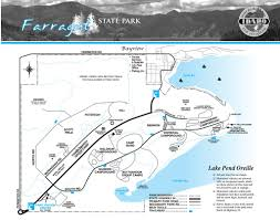 Liberty State Park Map by Farragut State Park