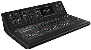 midas console m32 la console d entr礬e de gamme midas soundlightup