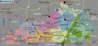 Map Of Kentucky And Ohio by Large Regions Map Of Kentucky State Kentucky State Large Regions