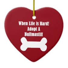 i my bullmastiff ornaments keepsake ornaments zazzle