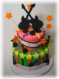 need pictures of birthday cakes with a musical theme loved this