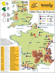 Tour De France Route Map by Grand Depart Route Maps News From The Bradford Telegraph And Argus
