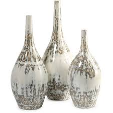 Uttermost Vases Hampton Mexican Pottery Vases Set Of 3 Free Shipping Today