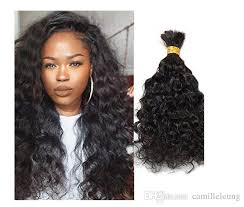 crochet braids with human hair human hair bulk for braiding loose curly 100 unprocessed