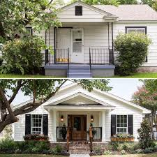 Bi Level Home Exterior Makeover by Creating French Country In The Texas Suburbs Exterior Makeover