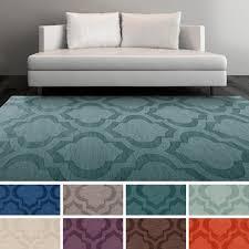Porcelain Blue Rug New 8 10 10x8 Scroll Tile Porcelain Blue Persian Handmade Wool