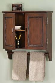 great bathroom wall cabinet with towel holder design ideas