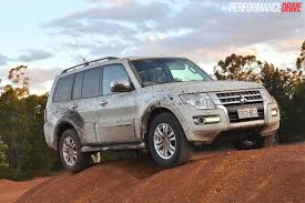 mitsubishi jeep 2015 2015 mitsubishi pajero exceed review video performancedrive
