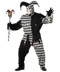 evil jester plus size costume men costumes