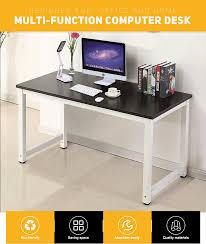 Computer Office Desk by Wood Black Computer Desk Pc Laptop Table Workstation Study Home