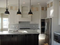 Dark Grey Cabinets Kitchen by Nice Kitchen White Cabinets Dark Island New Home Ideas