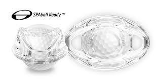 trigger point with a quartz crystal ball golfball massage