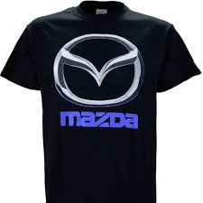 miata logo mazda chrome logo on a black t shirt mazda3 mazda6 mx 5 miata cx 5