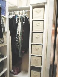 nicelooking closet organizers idea with white cute small closet