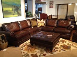 raymour and flanigan leather sofa foster leather sofa walnut raymour flanigan throughout bernhardt